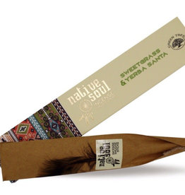 Native Soul Sweetgrass & Yerba Santa Native Soul Incense Sticks