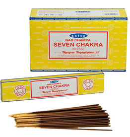 Satya Seven Chakra SATYA Incense Sticks
