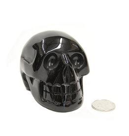 Black Obsidian Skull 3.5in - $155