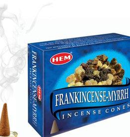 HEM Frankincense & Myrrh HEM Incense Cones