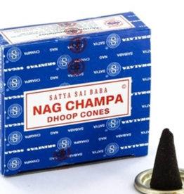Satya Sai Baba Nag Champa SATYA Incense Cones