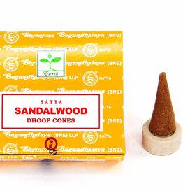 Satya Sandalwood SATYA Incense Cones