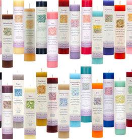 Crystal Journey Candles Herbal Magic Candle - Abundance