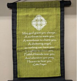 "Celtic Prayer Banner 11"" x 16"""