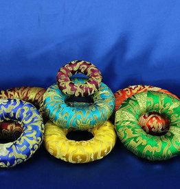 "Assorted 6"" Singing Bowl Ring Cushion"