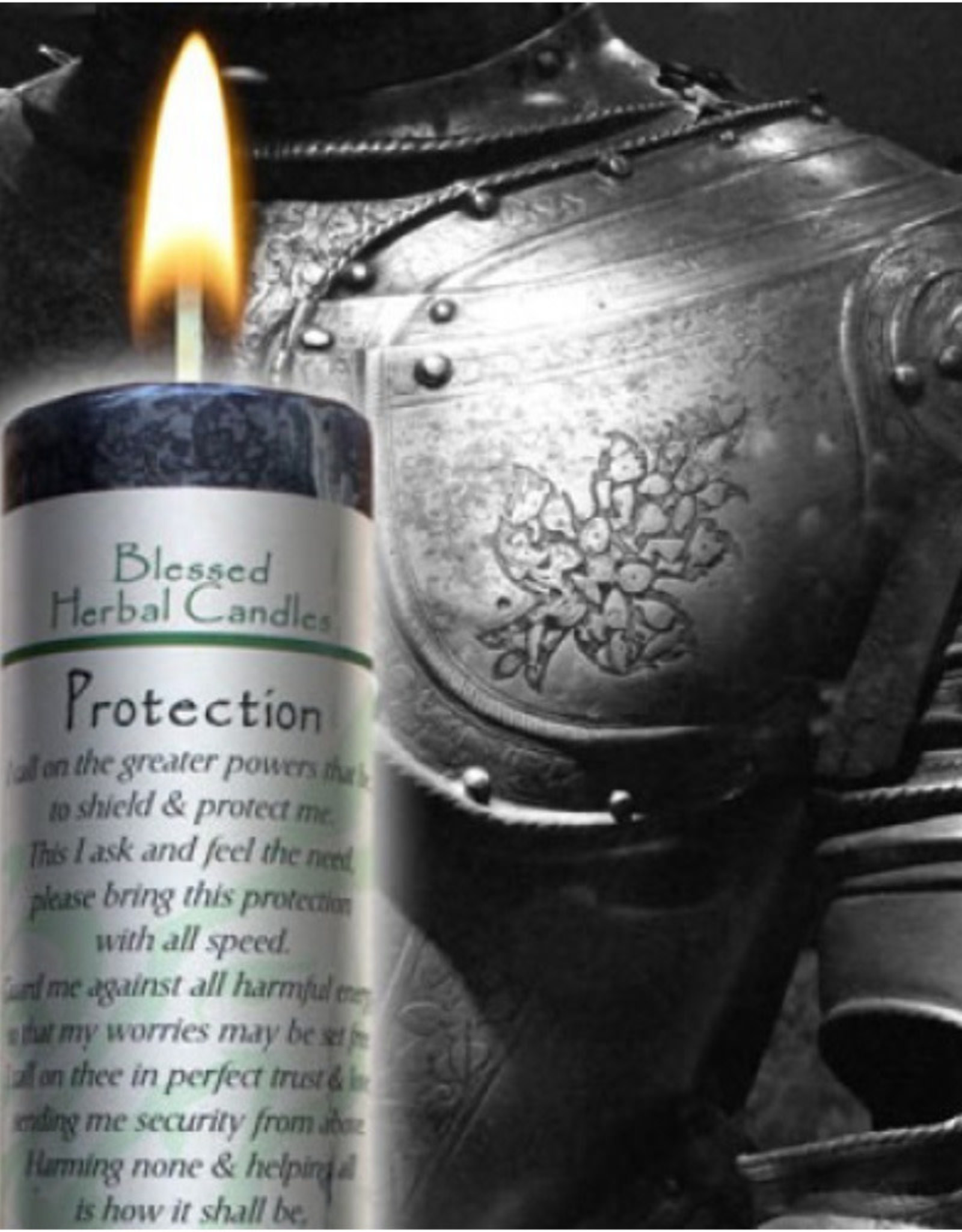 Coventry Creations Blessed Herbal Candle - Protection