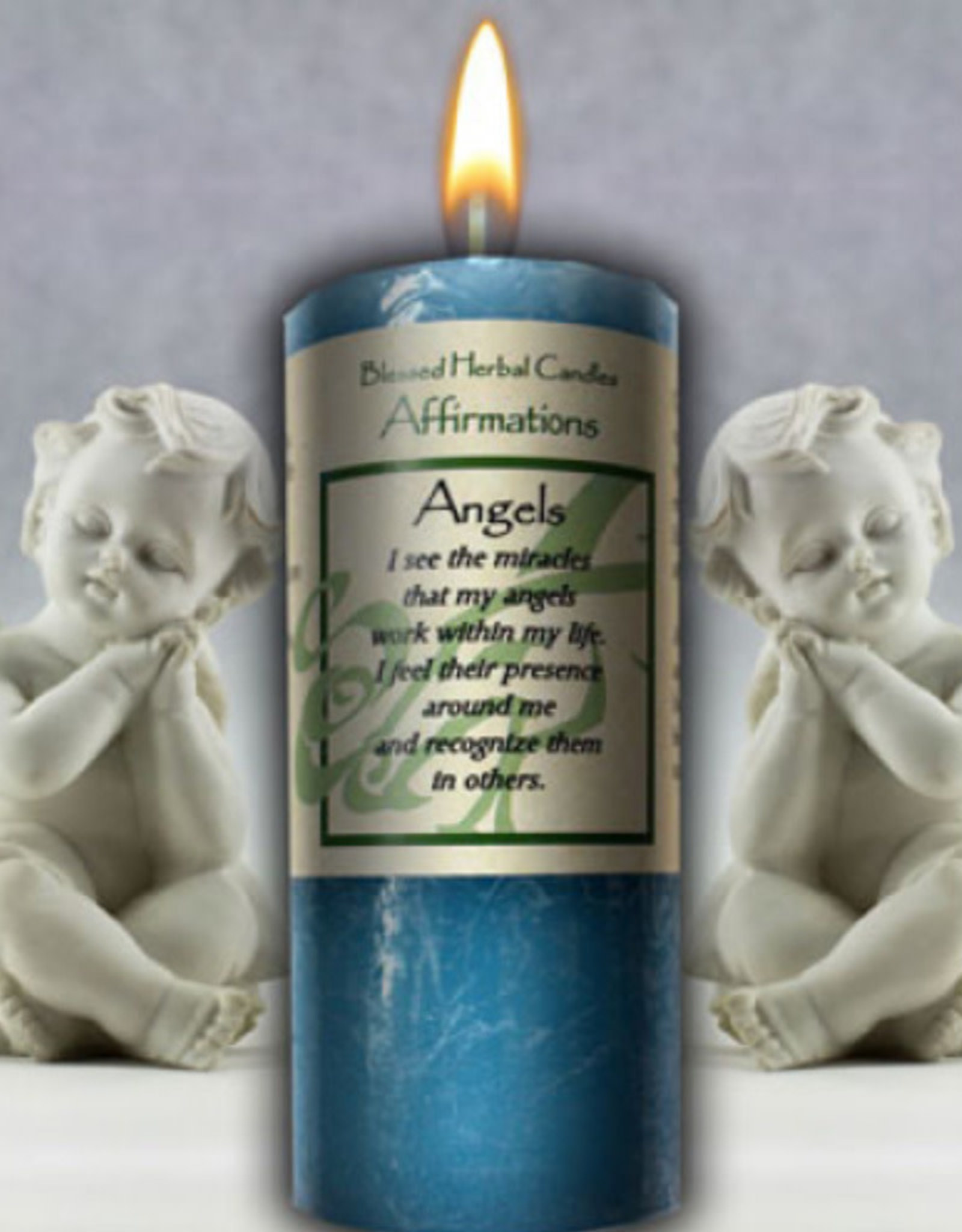 Coventry Creations Blessed Herbal Candle - Angels
