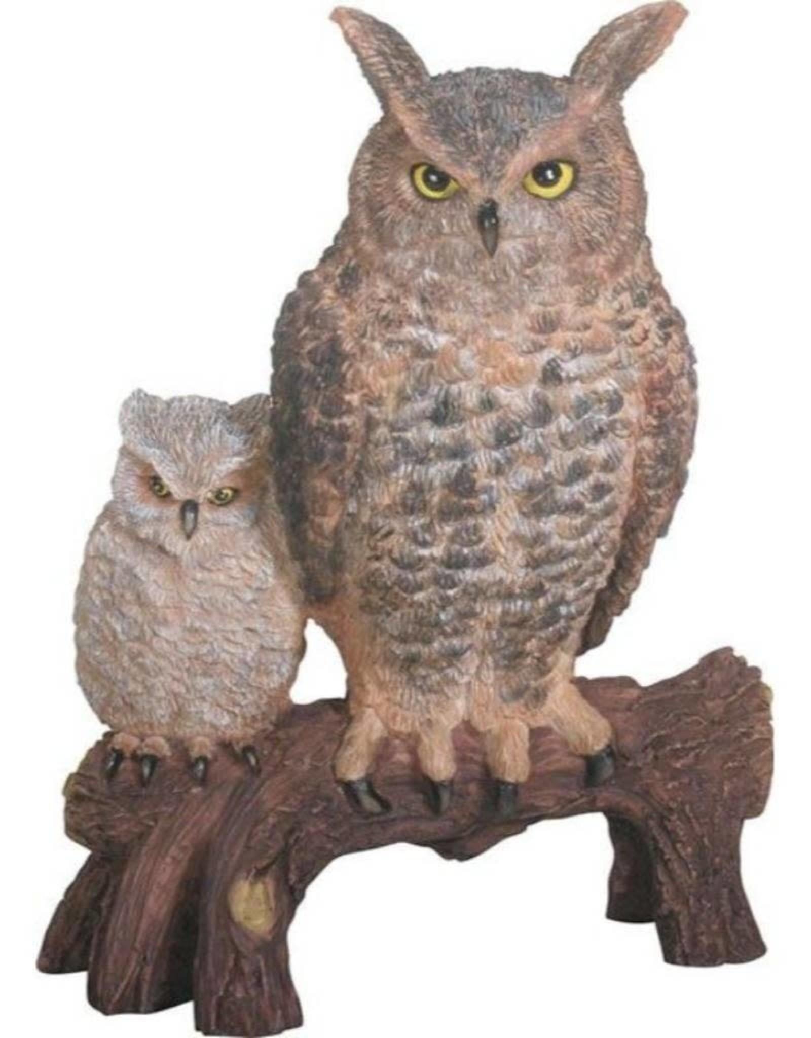 Summit Brown Owls Statue