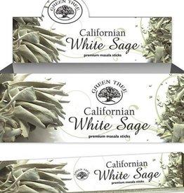 Green Tree Californian White Sage Green Tree Incense Sticks