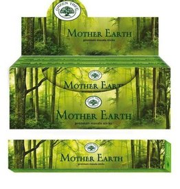 Green Tree Mother Earth Green Tree Incense Sticks 15g