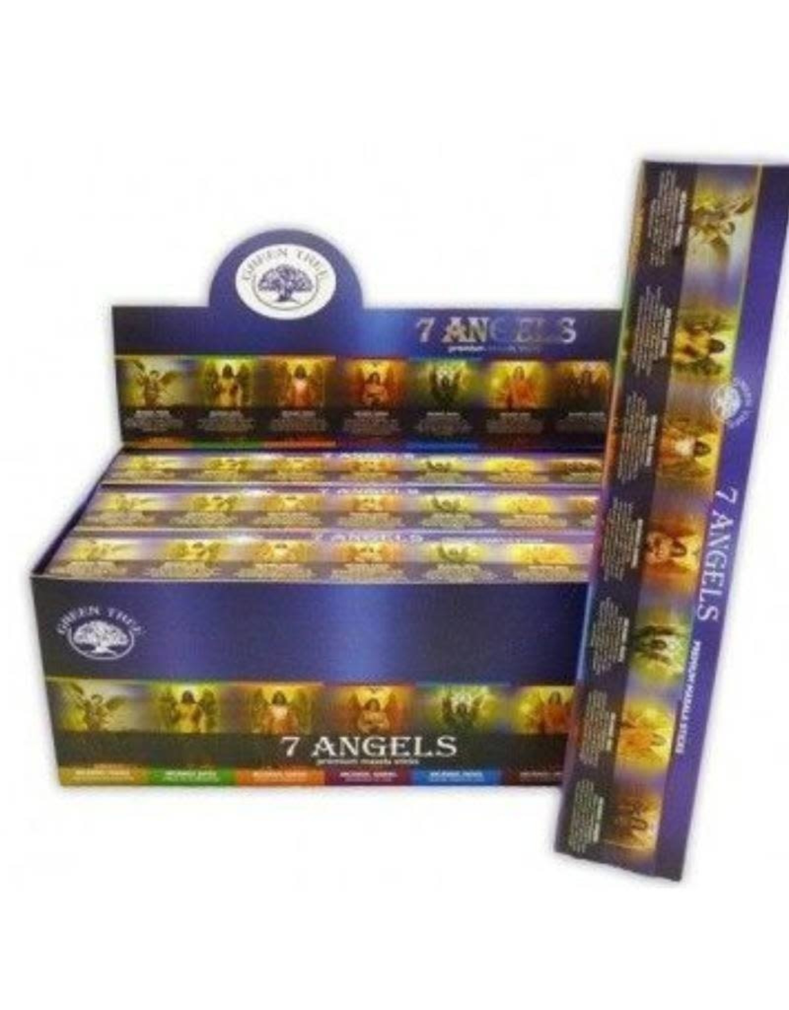 Green Tree 7 Angels Incense Sticks