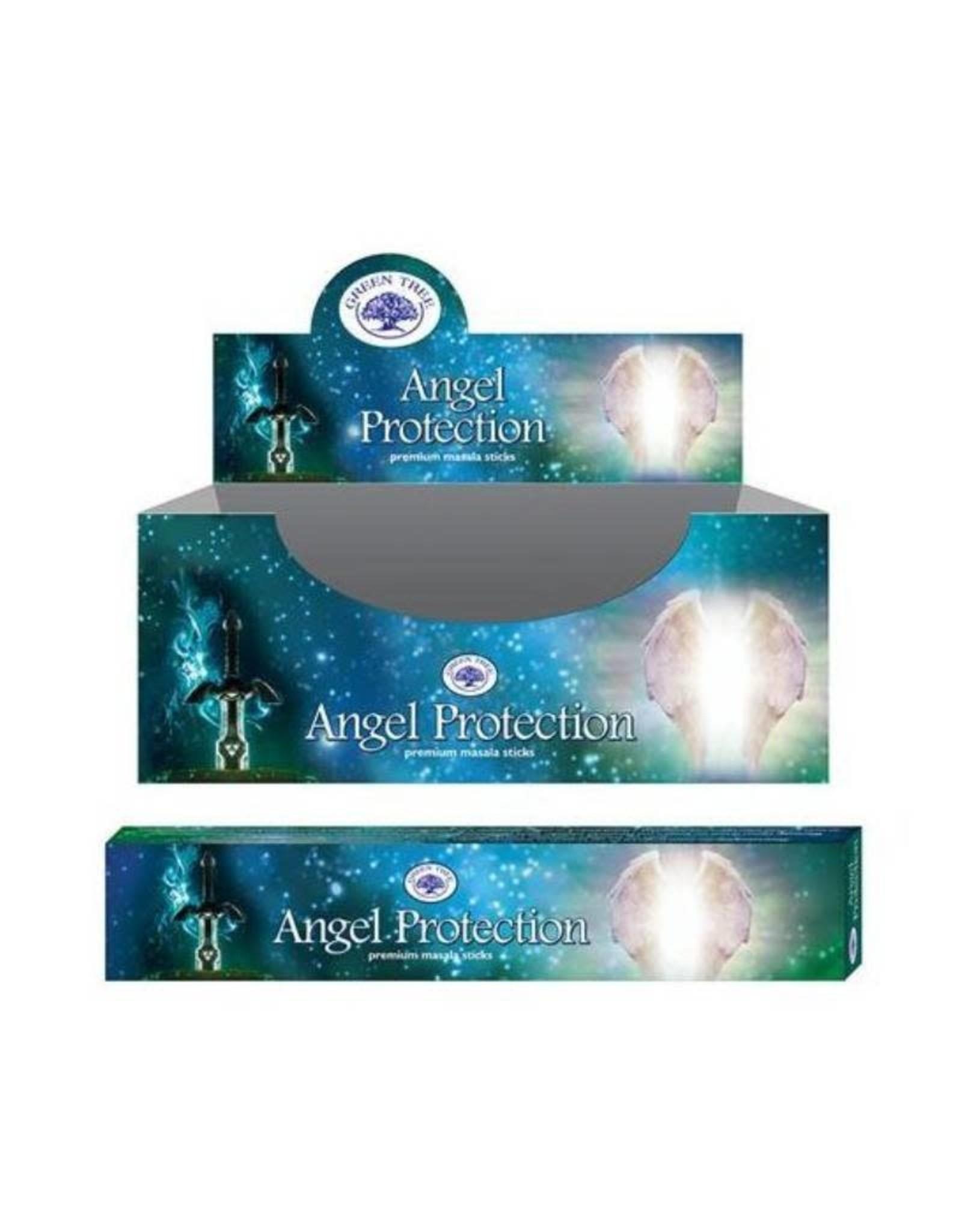 Green Tree Angel Protection Green Tree Incense Sticks 15g