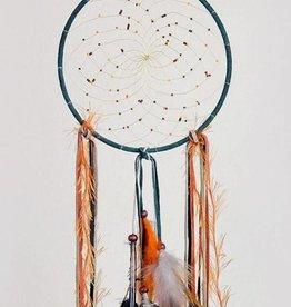"Monague Native Crafts Green Fall 6"" Dream Catcher"