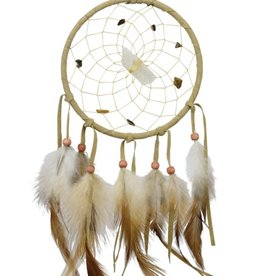 "Monague Native Crafts Tan 4"" Vision Seeker Dream Catcher"