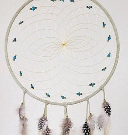 "Monague Native Crafts Tan 9"" Dream Catcher"