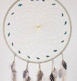 "Monague Native Crafts Tan 9"" Dream Catcher"
