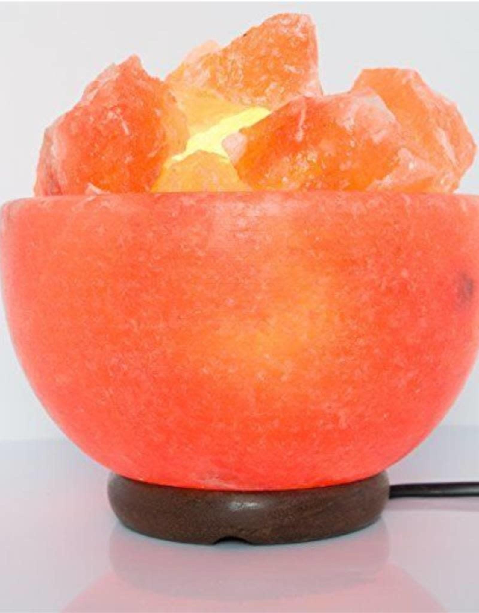 """8"""" Himalayan Salt Lamp Bowl"""