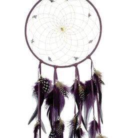 "Monague Native Crafts Purple 6"" Dream Catcher"