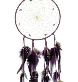 """Monague Native Crafts Purple 6"""" Dream Catcher"""