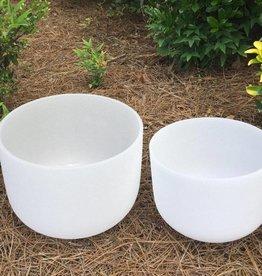 """10"""" Crystal Singing Bowl - Sacral D"""