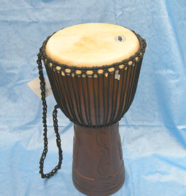 Groove Masters Natural Wood Djembe Drum  - 2 Ft tall