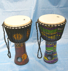 Groove Masters Lightweight Fibreglass Air-Drum Djembe - 23 inch tall - Assorted