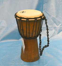 Groove Masters Natural Wood Djembe Drum  -  1 Foot Tall