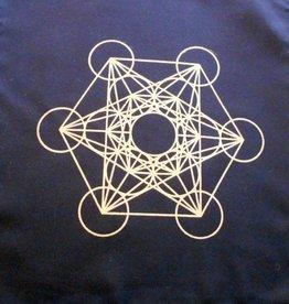Metatron Crystal Grid Mat - 12″ x 12″