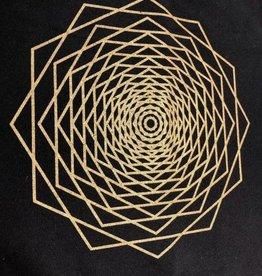 Dodeca Fractal Crystal Grid Mat - 12″ x 12″