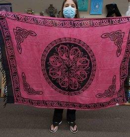 Celtic Mandala Sarong  - Pink