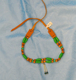 Walpole Island Walpole Island Handmade Beaded Necklace - Green