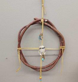 Walpole Island Walpole Island Handmade Muskrat & Turtle Medicine Wheel