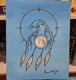 Dale Pitawanakwat Dale Pitawanakwat Artwork - Midnight Eagle