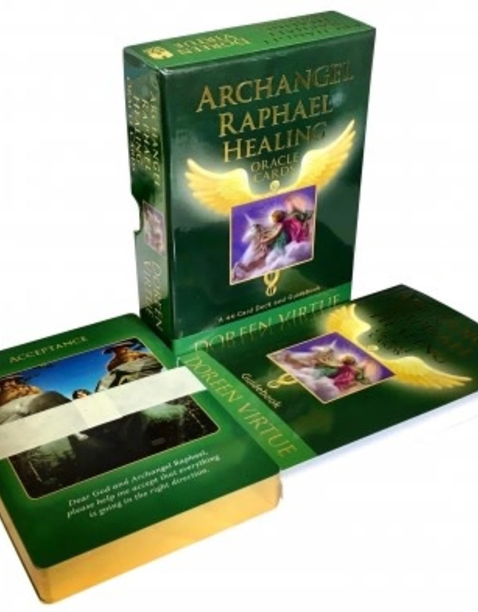 Doreen Virtue Archangel Raphael Healing Oracle by Doreen Virtue