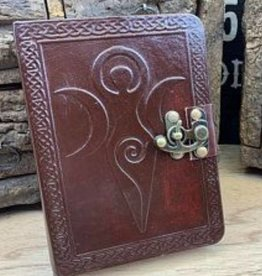 "Fantasy Gifts Goddess 5"" x 7"" Leather Journal"
