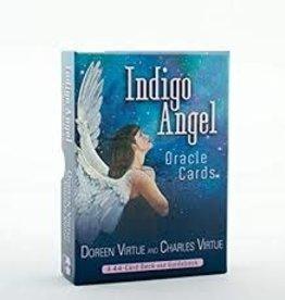 Doreen Virtue Indigo Angel Oracle by Doreen Virtue & Charles Virtue