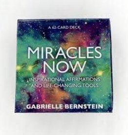 Gabrielle Bernstein Miracles Now Oracle by Gabrielle Bernstein