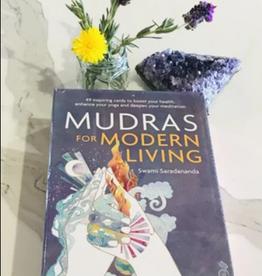 Swami Saradananda Mudras for Modern Living Oracle by Swami Saradananda