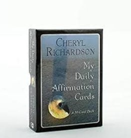 Cheryl Richardson My Daily Affirmations Oracle by Cheryl Richardson