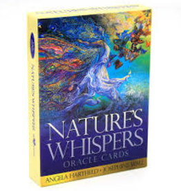 Angela Hartfield Nature's Whispers Oracle by Angela Hartfield