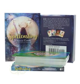 Flavia Kate Peters Spellcasting Oracle by Flavia Kate Peters