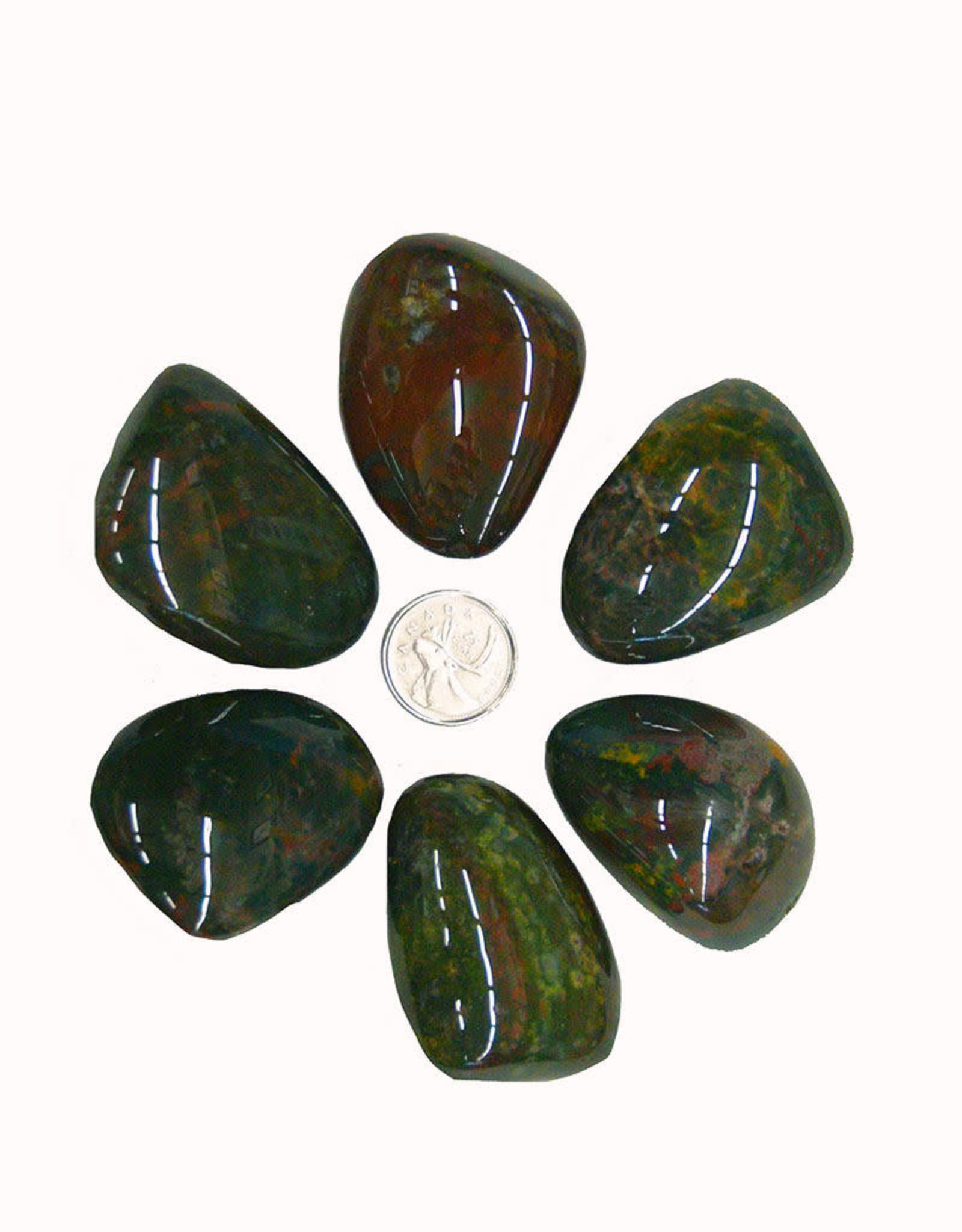 Bloodstone Palm Stone $12