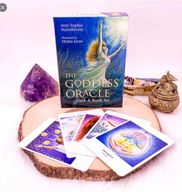 Amy Sophia Marashinsky The Goddess Oracle by Amy Sophia Marashinsky