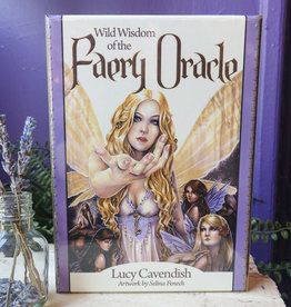 Lucy Cavendish Wild Wisdom of the Faery Oracle by Lucy Cavendish