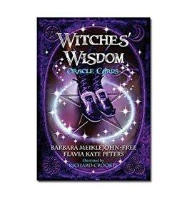 Barbara Meiklejohn-Free Witches' Wisdom Oracle by Barbara Meiklejohn-Free & Flavia Kate Peters