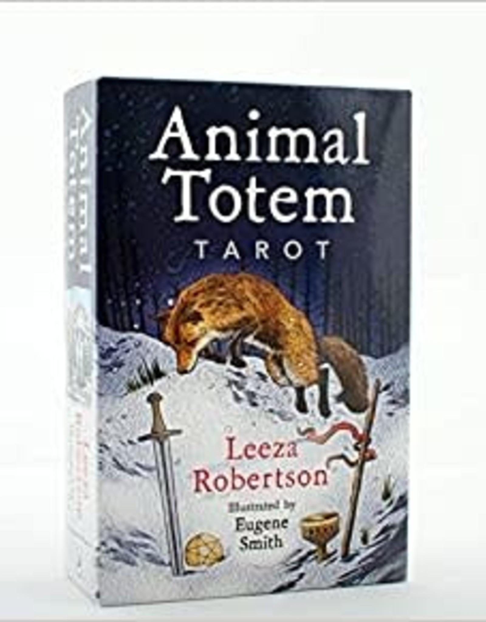 Leeza Robertson Animal Totem Tarot by Leeza Roberstson