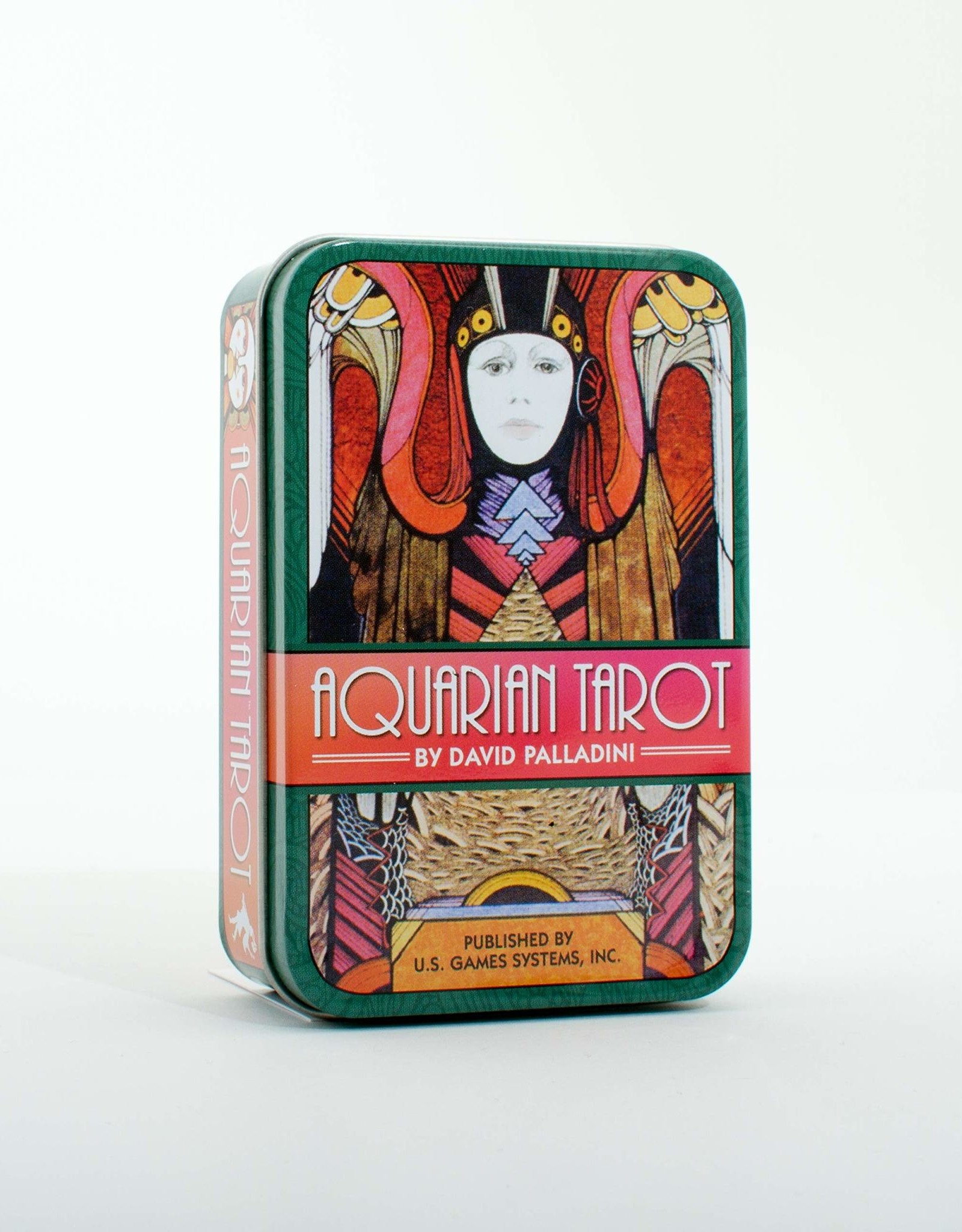 David Palladini Aquarian Tarot in a Tin by David Palladini