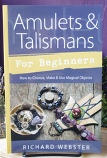 Richard Webster Amulets & Talismans for Beginners by Richard Webster