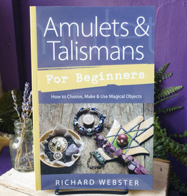 Richard Webster Amulets & Talismans for Beginners by Richard Webster