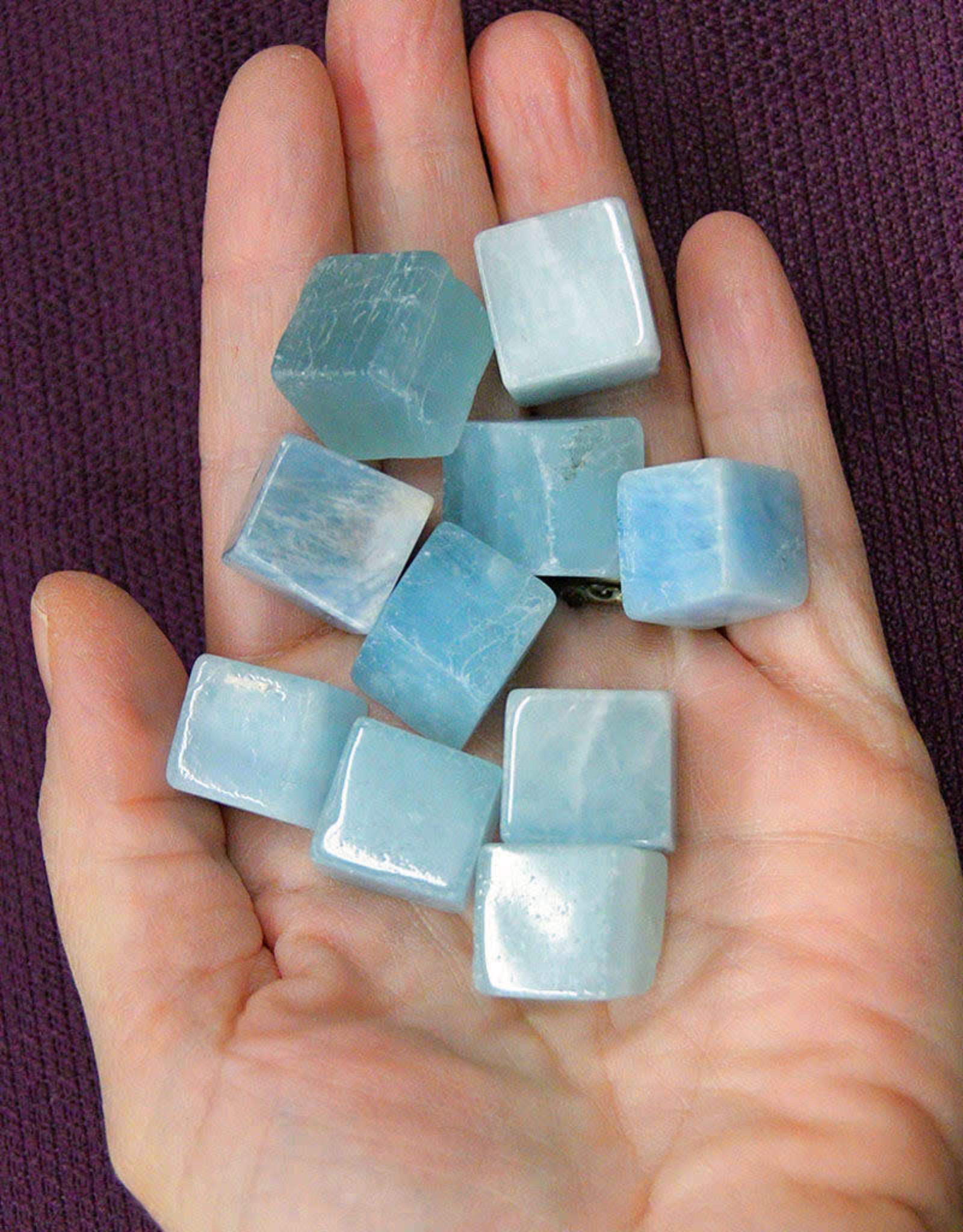 Aquamarine Cube $5